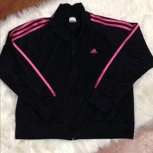 Women Adidas Long Sleeve Workout Sweatshirt XL.